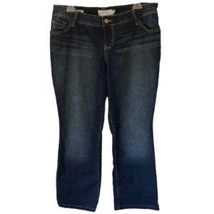 torrid Jeans - Torrid Barely Boot Jeans - Dark Wash - EUC - 14